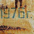 Rusting 1976 Board