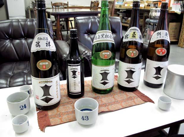 1kenbishi_brewery_sake_tasting