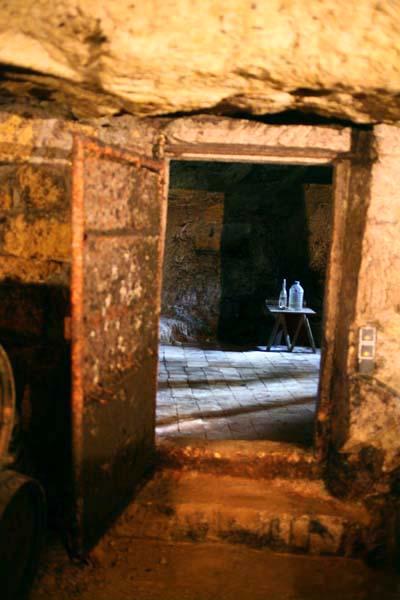 1Pierre_Breton_cellar_rooms_rusted_door