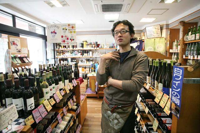1nodaya_sato_kohei_tokyo_wine_shelves