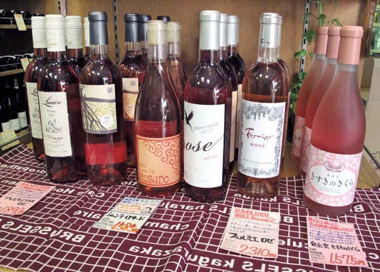 1nodaya_tokyo_wine_shop_japanese_rose_wine
