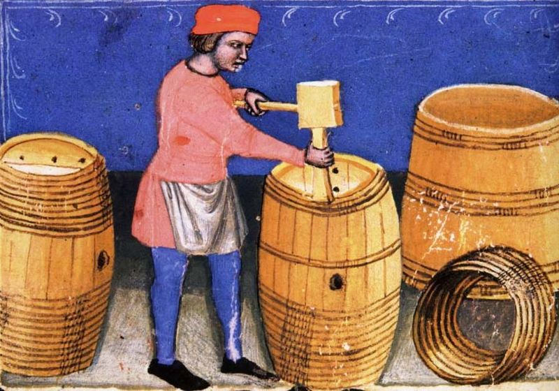 1wine_middle_ages_1385_vigneron_closing_cask_bologne