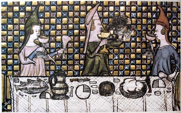 1wine_middle_ages_women_drinking_watriquet_de_couvin1325