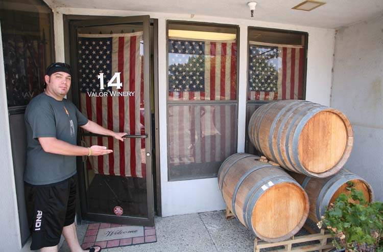 1valor_winery_kevin_opening_door
