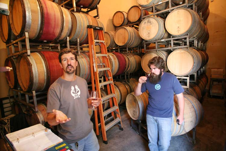 1ojai_winery_california_barrel_room_fabien_dominic