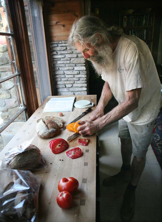 1lost_cabin_CA_slicing_tomatoes