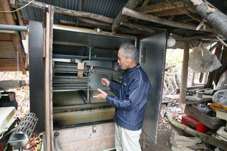 1zakkoku_micro_brewery_soaked_wheat_drying_machine