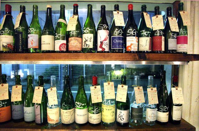 1ahiru_store_tokyo_bottles_on_shelves