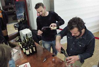 1nossiter_movie_post-debate_wine_pours