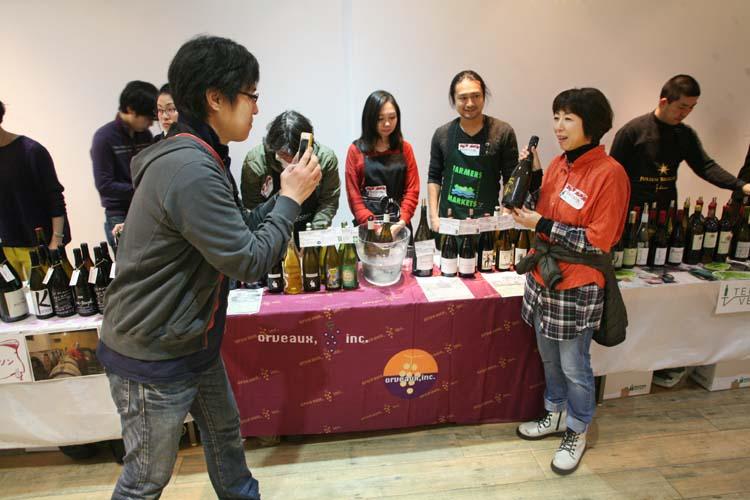1festivin_tokyo2014_orveaux_wine_table