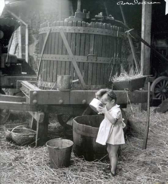 1old_wine_pics_r-doisneau_apple_juice1947