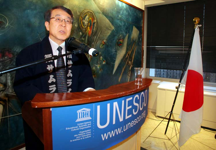 1sake_unesco_ambassador_kenjiro_monji
