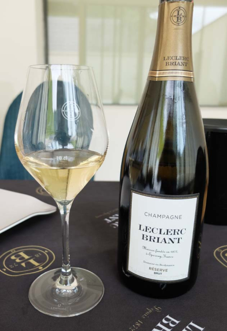 Wine Tasting Vineyards In France Leclerc Briant Champagne