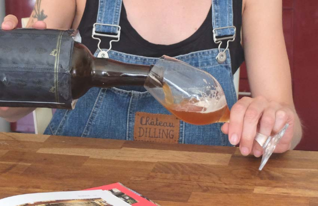 1emily_dilling_pouring_her_beer