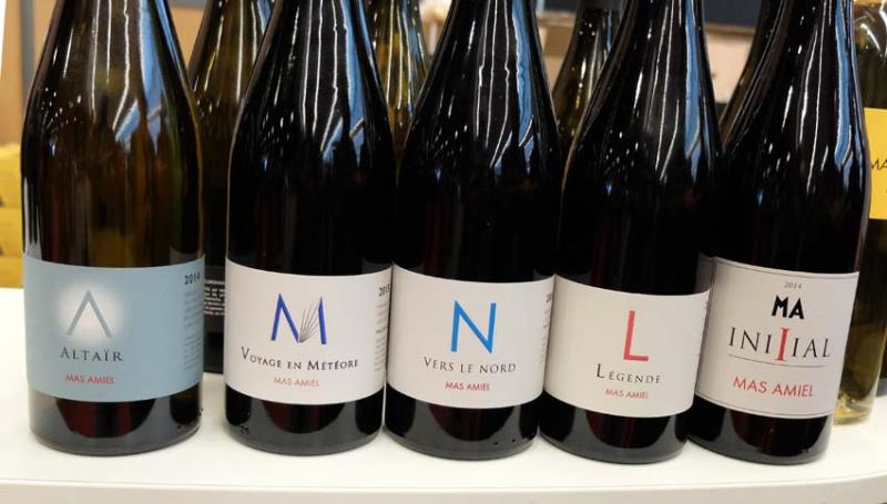 1paris_wine_fair_mas_amiel_botls