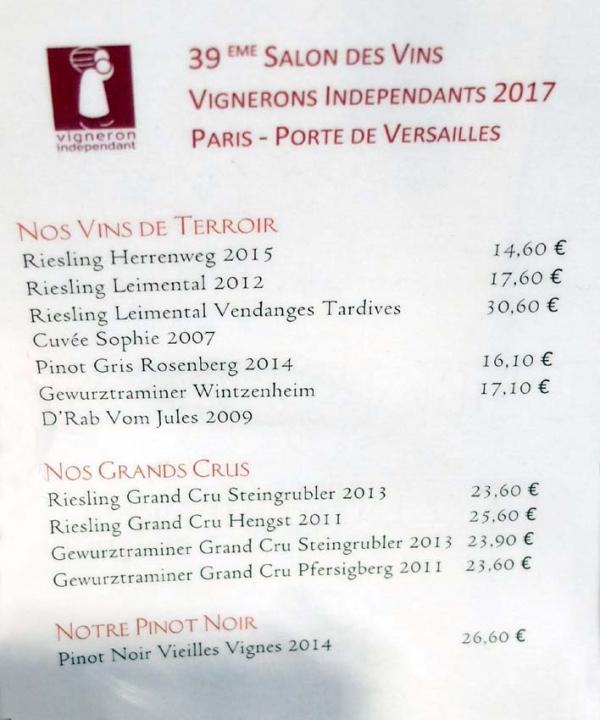 Wine Tasting Vineyards In France The 1000 Domaine Wine Fair