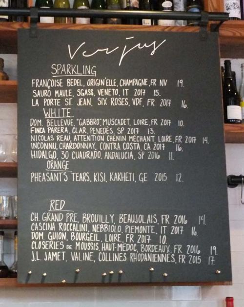 Wine Tasting Vineyards In France Verjus Wine Bar San