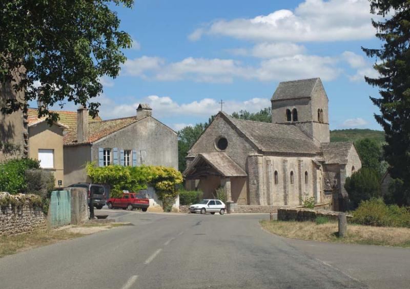 1ozenay_romanesque_church