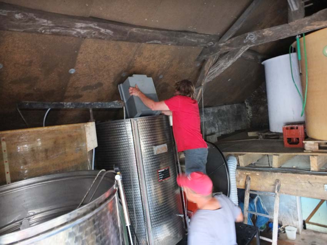 1harvest_gillet_destemming_filling_vat