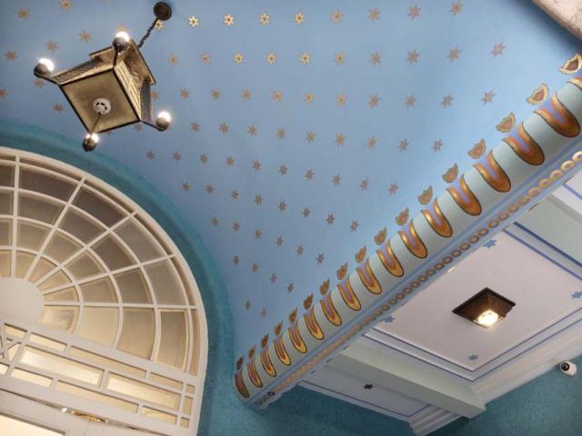 1Kazinczyzsinagoga_ceiling_detail2