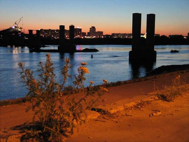 Oka river (industrial zone)