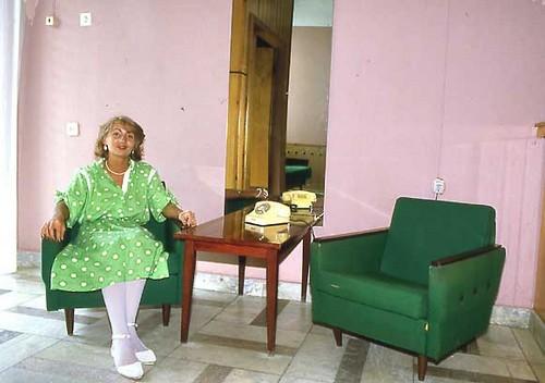 Tania, sitting