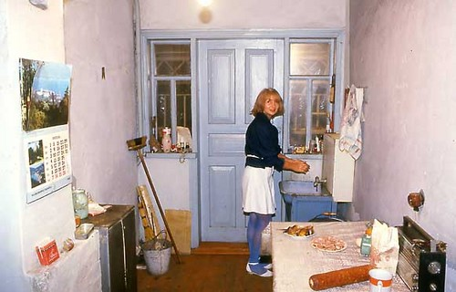 Tania, in the Kitchen