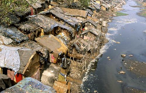 This slum is less well known